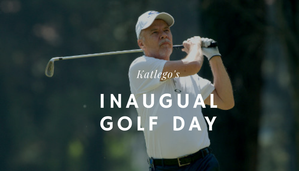 Katlego's Inaugural Golf Day